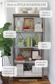 how to style a bookcase how to style a bookshelf decorating cupboard and book shelves