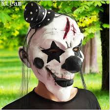 photo collection clown mask black hair