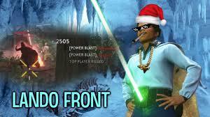 Lando Calrissian Meme - star wars battlefront lando calrissian op youtube