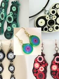 quilling earrings tutorial pdf free download tutorial for paper quilled jewelry pdf retro circles earrings and