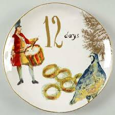 williams sonoma 12 days of gold numbers coupe shape