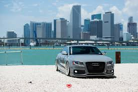 nardo grey s5 larry u0027s nardo grey audi s5 vossen forged vps 304 wheels