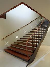 stair lighting ideas staircase contemporary with step lighting