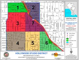 Map Of Hollywood Studios Hollywood Studio District Neighborhood Council