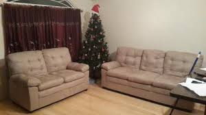 Microfiber Sofa And Loveseat Mainstays Buchannan Microfiber Sofa Multiple Colors Walmart Com