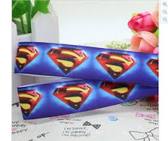 superman ribbon superman ribbon for cake decorating or scrapbooking ebay