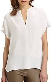 white silk blouse sleeve vince split neck silk blouse where to buy how to wear
