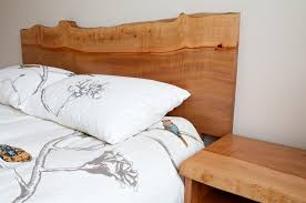 Live Edge Headboard by Live Edge Arbutus Headboard And Side Tables Www Thierrybrionne Com