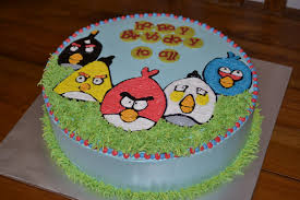 angry birds cakes u2013 decoration ideas little birthday cakes