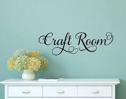 craft room decal craft room decor craft room door decal craft zoom