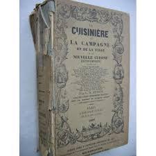 livre de cuisine ancien cuisiniere de la cagne et de la ville ou nouvelle cuisine