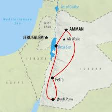negev desert map self drive tour of in 8 days on the go tours