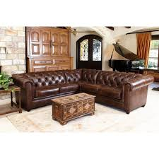 Chestnut Leather Sofa Sofas Magnificent Ashley Leather Sofa Leather Furniture Abbyson
