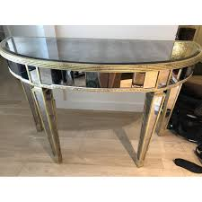 Mirrored Console Table Horchow Mirrored Console Table Aptdeco