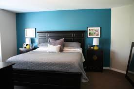 Blue Accent Wall Bedroom by 1000 Images About Our House On Pinterest Table Lamps For