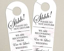 set of 10 gift tags for wedding hotel welcome bag