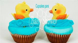 cupcakes para baby shower sabor de fiesta youtube