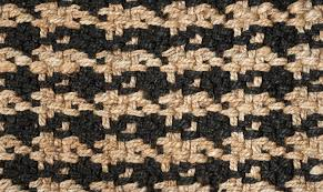 Black And Beige Area Rugs Kosas Home Dogtooth Handspun Jute Black Area Rug U0026 Reviews Wayfair