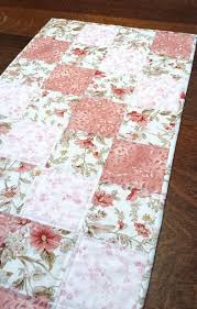 263 best quilted table runners toppers images on