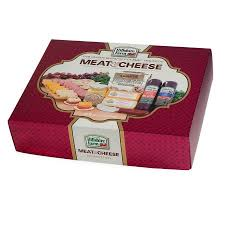 meat and cheese gift baskets hillshire farms meat cheese collection gift basket box