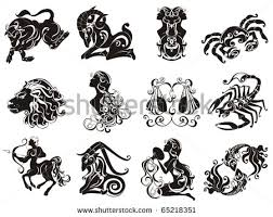 zodiac signs sagittarius tattoos set photos pictures and