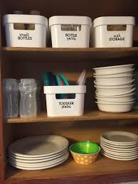 How To Organize Kitchen Cabinet by Organize Baby Bottles And Breastfeeding Supplies Baby Bottles