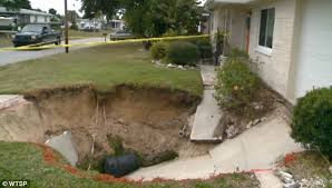 Sinkhole In Backyard Sinkhole Lawyer New Port Richey Pasco County Sinkholes Claims