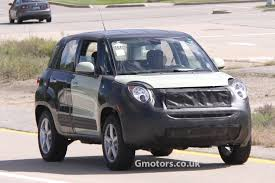 jeep mini new jeep small suv chassis testing mule 6