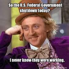 Shut Down Everything Meme - brace yourselves government shutdown memes are coming anypromo blog