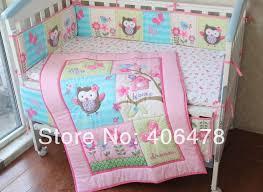 Bedding Sets For Baby Girls by Crib Bedding Owls Baby Crib Design Inspiration