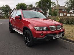 Bmw X5 2005 - 2005 bmw x5 facelift 3 0d automatic in very rare imola red in