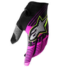 fox tracker motocross boots alpinestars radar tracker a1 le gloves black pink yellow sixstar