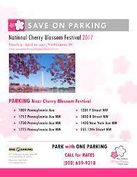 National Cherry Blossom Festival by National Cherry Blossom Festival 2017 U2013 Save On Parking One