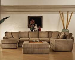 Large Sectional Sofa by Living Room Sectional Sofa With Oversized Ottoman Modern