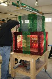 diy lighted outdoor christmas decorations 44 best christmas lighted boxes images on pinterest gift boxes