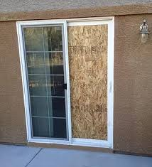 How To Fix A Patio Door Las Vegas Commercial Glass Board Up Patio Door Install Repair Replace
