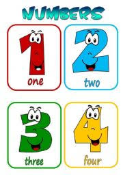 free printable number flashcards 1 20 english teaching worksheets numbers flashcards