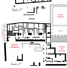 file domus augustus palatine plan png wikimedia commons