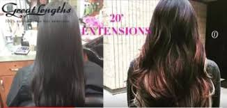 great lengths hair extensions cost before and after hair pics by hair extensions denver