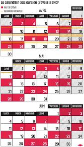 bureau sncf 16 sncf le calendrier des grèves libération