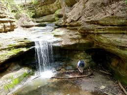 Matthiessen State Park Trail Map by Bike Camping Starved Rock State Park Out Our Front Door