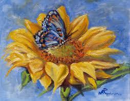 sunflower butterfly maniscalco gallery