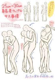 tuto comment dessiner un couple qui s u0027embrasse avec une