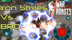 Springfield Map War Robots Wr Iron Smiles Vs Bro Battle In Springfield Map