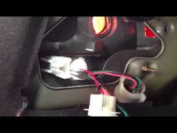 can am outlander tail light bulb tail light socket replacement 1 youtube