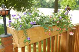 Deck Railing Planter Box Plans by Attractive Exterior Adjustable Railing Planters Laluz Nyc Home