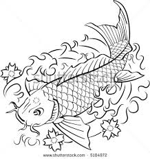 japanese flowers n koi fish tattoo on arm photos pictures and