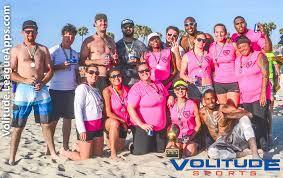 Coed Flag Football League Summer 8v8 Coed Flag Beach Football League In Long Beach Sunday