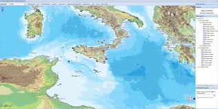 Map Of Mediterranean Europe by Research Ancient World Mapping Center