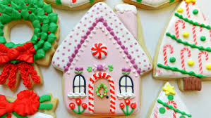 how to decorate a gingerbread house cookie youtube